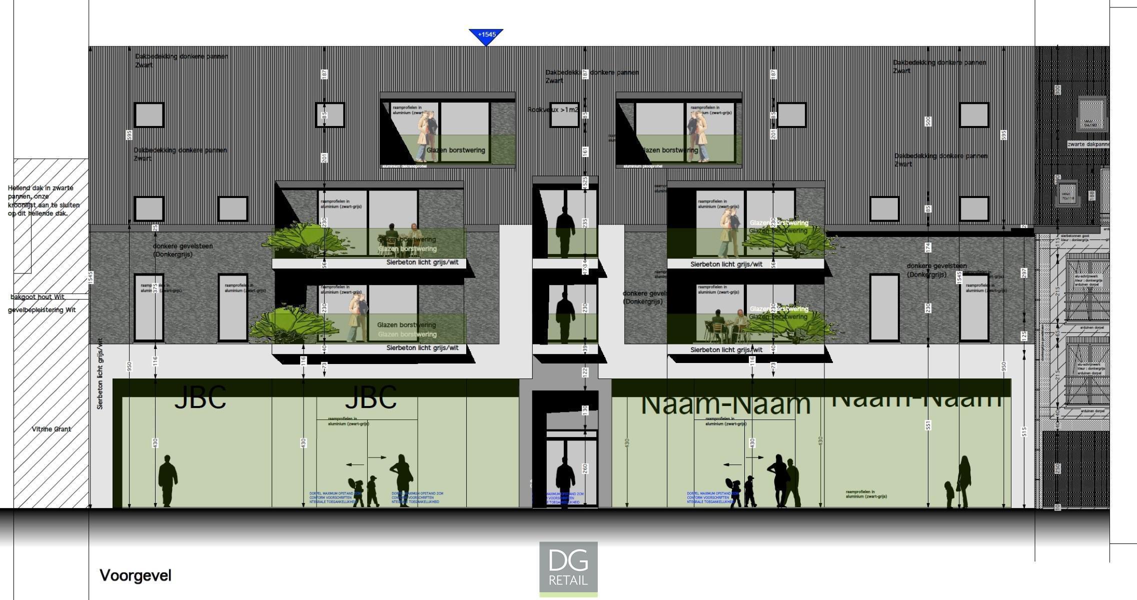 commercieel gelijkvloers verhuurd R0741 Bergstraat  103-109