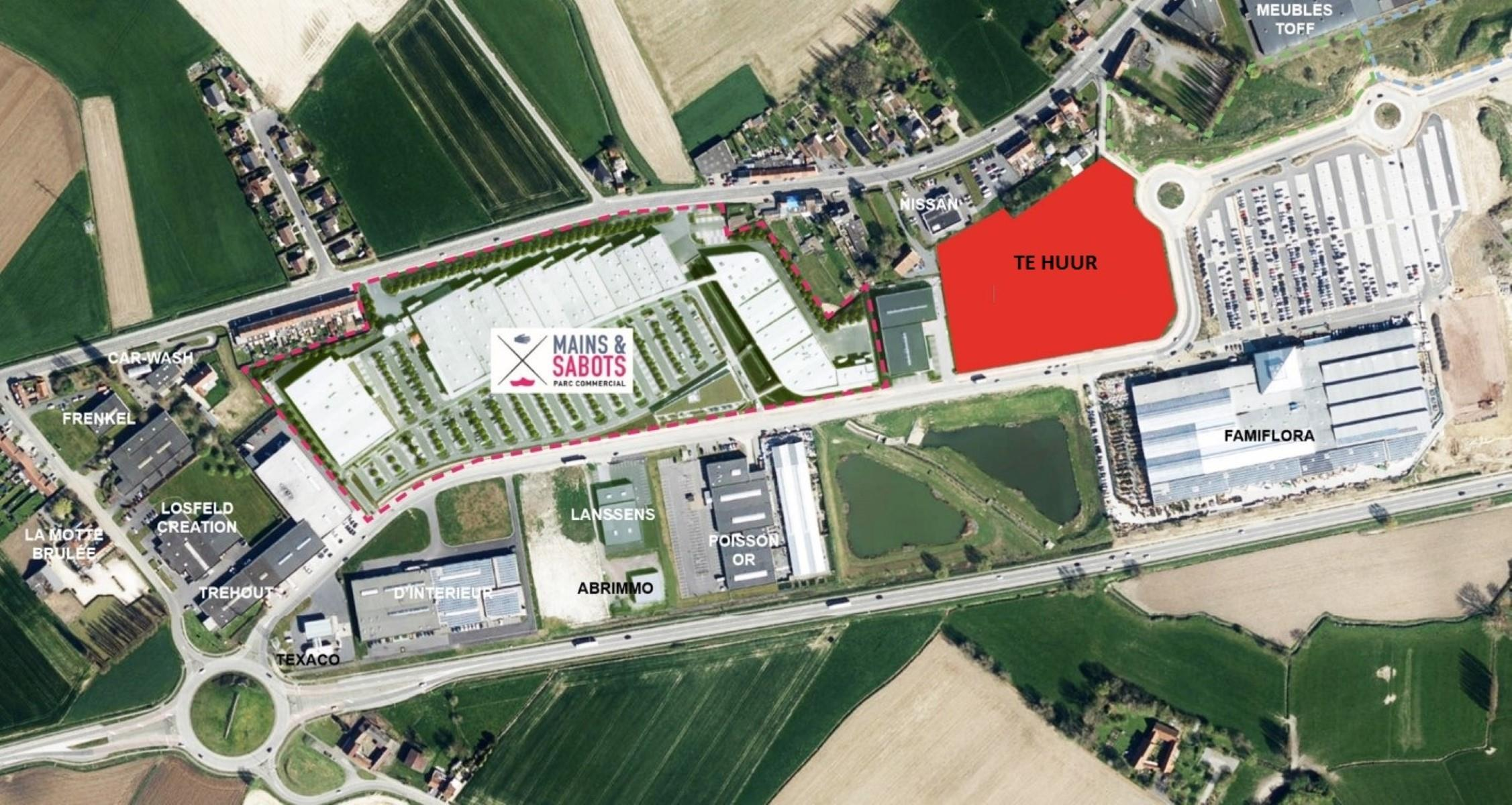 commercieel centrum te huur R1335 Rue Jules Vantieghem