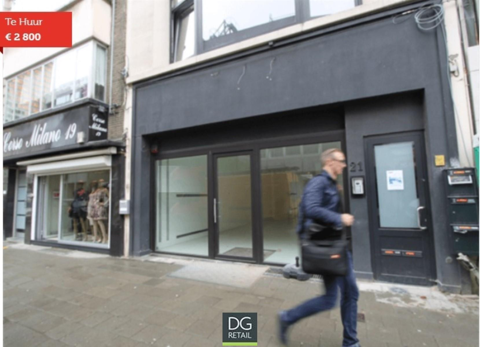 commercieel gelijkvloers te huur R1378 Quellinstraat 21
