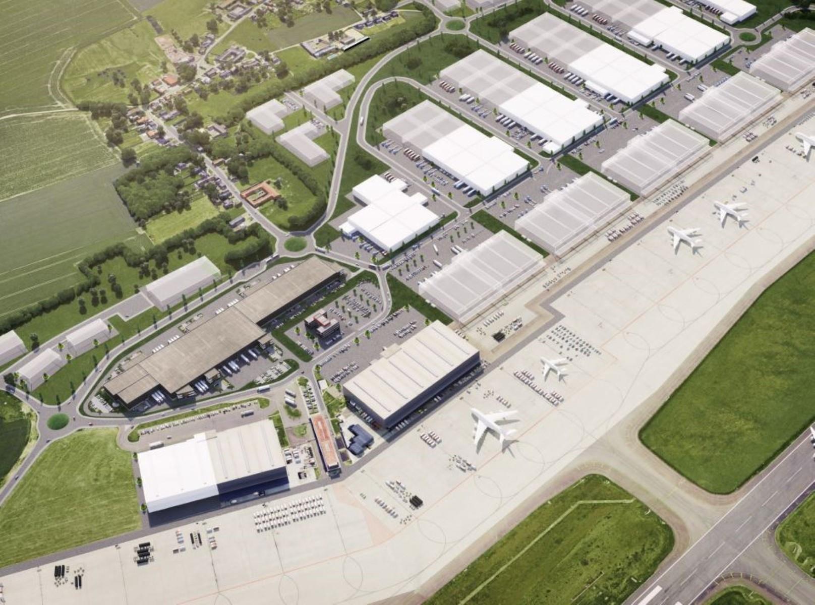 bedrijfsgebouw te huur I043 Liege Airport