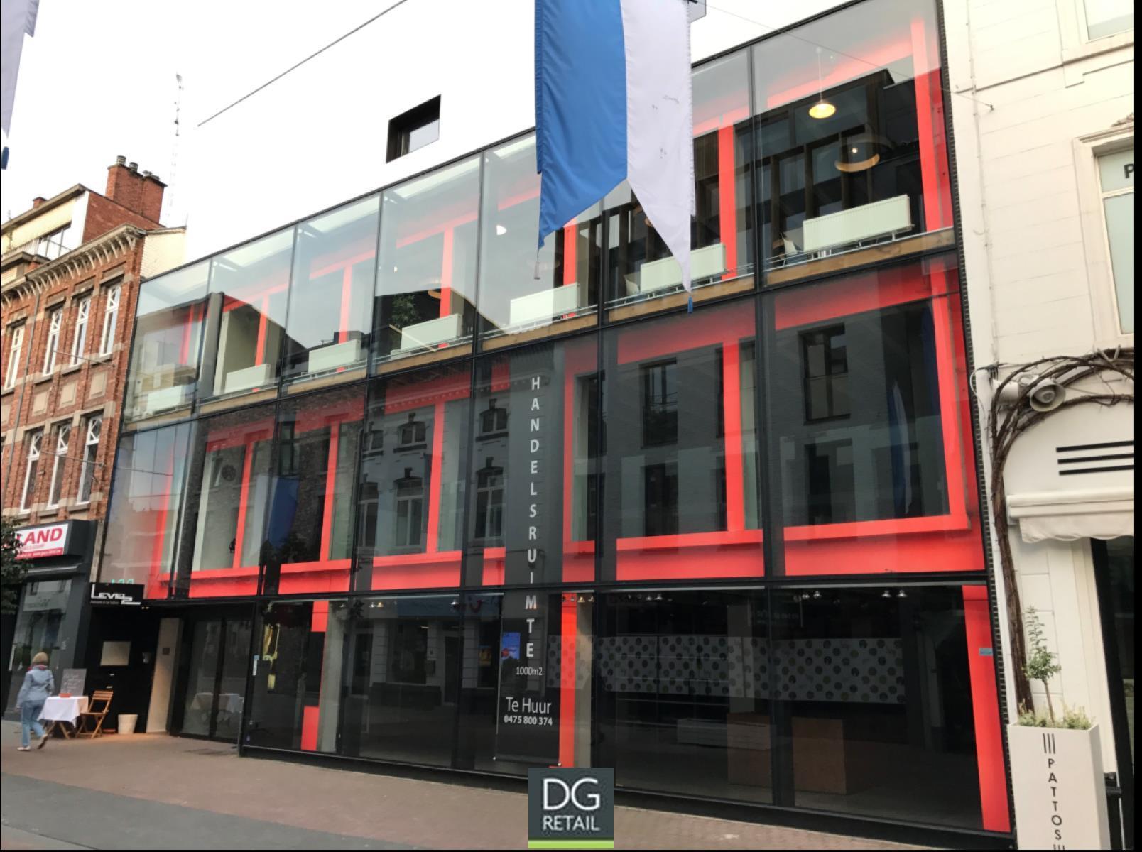 commercieel gelijkvloers te huur R1475 Demerstraat 71-73