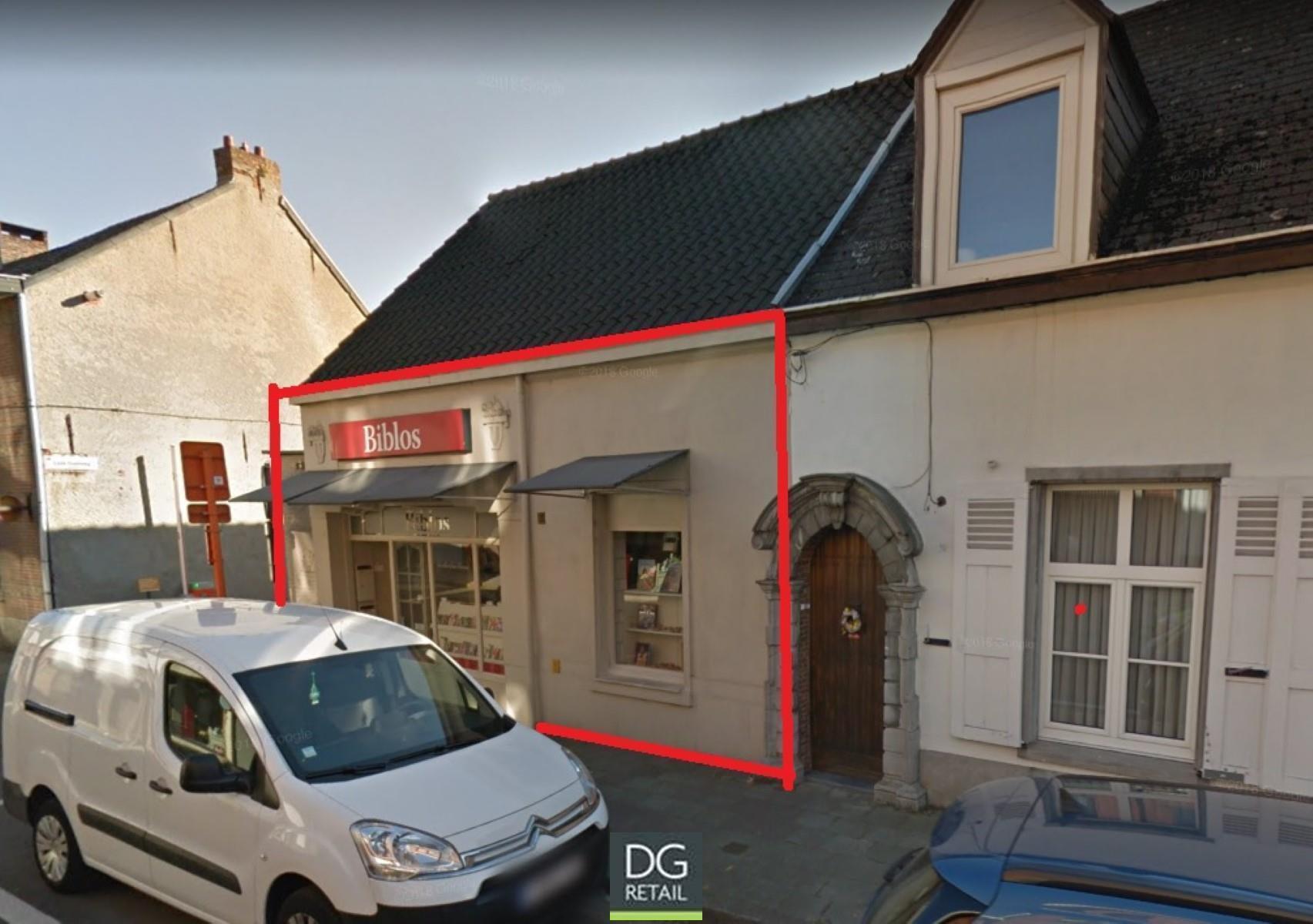 commercieel gelijkvloers te huur R1485 Doelveldstraat  28